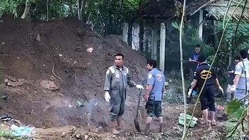 พบแล้ว สามีฝรั่ง-เมียไทย ที่แท้พี่ชายจ้างวานฆ่า ฝังศพอำพรางในสวน