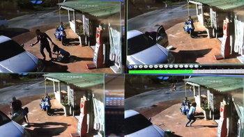 ภาพนาทีอดีตทหาร หึงโหดง้อเมีย ฉุดขึ้นรถขัดขืนลั่นไกใส่ แถมขู่ฆ่ายกครัว