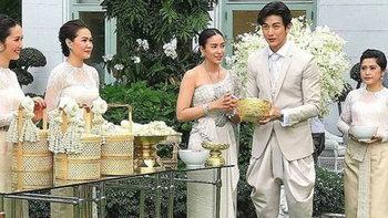 """""""พุฒ-จุ๋ย"""" เข้าพิธีสมรส บรรยากาศอบอุ่น เต็มไปด้วยความรัก"""