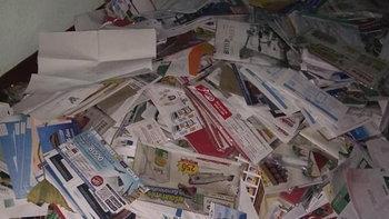 โผล่มาอีกเคส บุรุษไปรษณีย์ทิ้งจดหมายกองพะเนินกลางเมืองระยอง