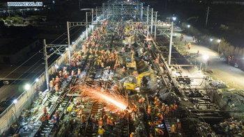 """ของขวัญปีใหม่! จีนเตรียมเปิด """"รถไฟความเร็วสูง"""" พร้อมกัน 10 สายก่อนสิ้นปี"""