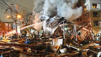 """""""ซัปโปโร"""" ระทึก! ร้านอาหารแก๊สระเบิด บาดเจ็บ 42 ราย สาหัส 1 โดนไฟคลอกหน้า"""