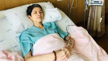 """""""นิ้ง กุลสตรี"""" เผยอาการล่าสุด ค่าความเข้มข้นของเลือดตกอย่างรวดเร็ว ซีดและเพลียมาก"""