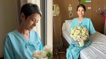 """""""นิ้ง กุลสตรี"""" ได้กลับบ้านแล้ว หลังเข้าโรงพยาบาลด่วน แฟนๆ ส่งกำลังใจต่อเนื่อง"""