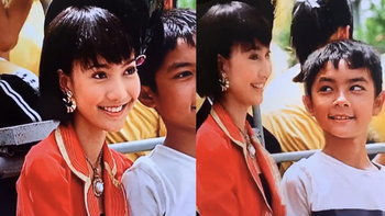 """เปิดภาพ """"แต้ว ณฐพร"""" ประกบ """"แน็ก ชาลี"""" ในหนัง เมื่อ 15 ปีก่อน สวยหล่อทั้งคู่"""