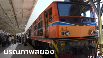 ช็อกกันทั้งสถานี! จู่ๆ พระวิ่งไปนั่งพนมมือบนรางให้รถไฟทับ ศีรษะขาดกระเด็น