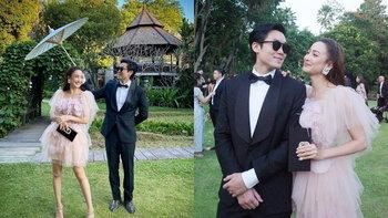"""หวานทะลุเฟรม """"แต้ว-ไฮโซณัย"""" ภาพคู่กับโมเมนต์น่ารักในงานแต่งงานเพื่อน"""