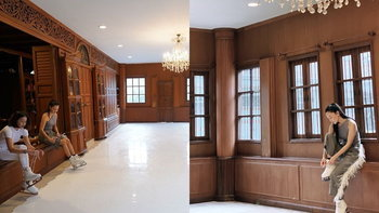 """""""นุ่น วรนุช"""" สร้างลานไอซ์สเก็ตไว้ในบ้าน WORRA STUDIO สวยอลังการมาก"""