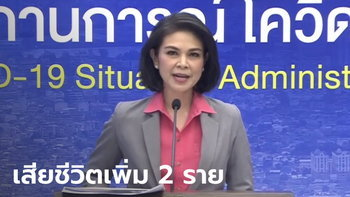 """โควิดวันนี้ """"หมอเบิร์ท"""" แถลงไทยพบผู้ติดเชื้อเพิ่ม 187 ราย เสียชีวิต 2 ราย"""