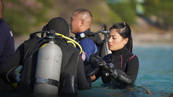 เจ้าฟ้าสิริวัณณวรีฯ ทรงเป็นอาจารย์พิเศษ ฝึกอบรมดำน้ำ อนุรักษ์ปะการัง