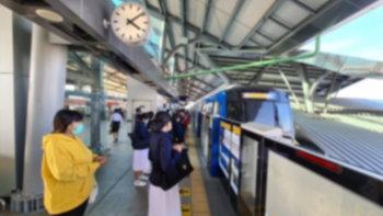 เปิดไทม์ไลน์ รปภ. MRT สายสีม่วง สถานีกระทรวงสาธารณสุข ก่อนรู้ผลติดเชื้อโควิด-19