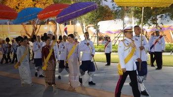 ในหลวง พระราชินี เสด็จฯ ถวายบังคมสมเด็จพระบูรพมหากษัตริยาธิราช เนื่องในวันจักรี