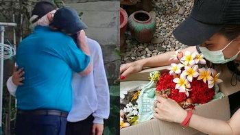 """""""ทิกเกอร์"""" กอดคุณตาร้องไห้ ส่ง """"พี่โต๋เต๋"""" ขึ้นสวรรค์ """"นิโคล"""" โพสต์เศร้า ผูกพันยาวนาน 17 ปี"""