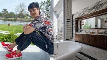 """""""หมอเจี๊ยบ ลลนา"""" รับขำๆ คนเห่อบ้าน 2021 โชว์ห้องน้ำหรูสุดคลาสสิก สวยงามมาก"""