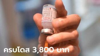 สมาคม รพ.เอกชน เคาะราคากลางค่าบริการฉีดวัคซีนโมเดอร์นา เข็มละ 1,900 บาท