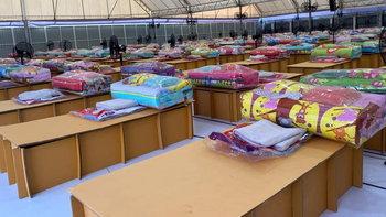 สมาคมลูกฟูกไทย ผุดแคมเปญซื้อเตียงกระดาษบริจาค รพ.สนาม ซื้อ 1 แถมอีก 1 เตียง