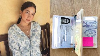 """""""ชัญญ่า ทามาดะ"""" โชว์พาสปอร์ตแจงแล้วไม่ได้อยู่ไทย หลังดราม่าลือฉีดวัคซีนไฟเซอร์ในไทย"""
