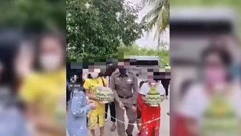 ผกก.ละแม แจงดราม่าตำรวจใช้รถตู้ตราโล่ขนญาติไปหมั้นสาว ชี้ชาวบ้านก็ขอใช้ได้