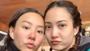 """""""แต้ว-เต้ย"""" เผยหน้าสด สวยเหมือนอย่างกับฝาแฝด"""