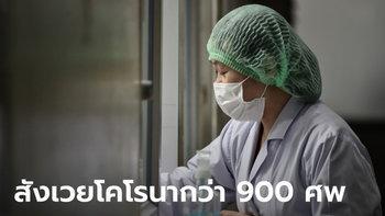 ไวรัสโคโรนา: เสียชีวิตทะลุ 900 ศพ ขณะยอดสะสมผู้ติดเชื้อพุ่งเกิน 40,000