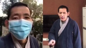 """ไวรัสโคโรนา: ชาวจีนหายตัวเพิ่มรายที่ 2 หลังท้าทายรัฐบาล-รายงานสถานการณ์ใน """"อู่ฮั่น"""""""