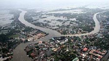 ประมวลภาพสถานการณ์น้ำท่วม 2554