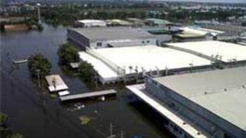 น้ำท่วม 5 นิคมอุตสาหกรรม ในอยุธยา ทั้งหมดแล้ว