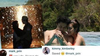 แฟนคลับใจชื้น หมาก ปริญ โพสต์รูปหวานกอด คิมเบอร์ลี่