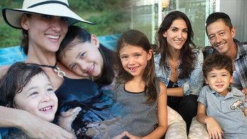 เปิดภาพครอบครัว ซินดี้ สิรินยา พ่อแม่ลูกสวยหล่อยกบ้าน