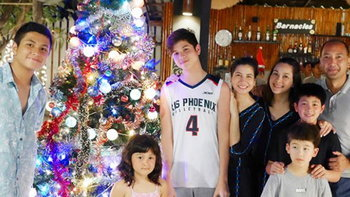 อบอุ่น หมิว ลลิตา พาลูกชายฉลองคริสต์มาสกับครอบครัว แหม่ม คัทลียา