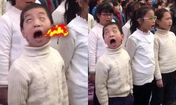 อินเนอร์มาเต็ม หนุ่มน้อยร้องเพลง เล่นหูเล่นตาจนเป็นดาวเด่น