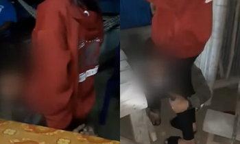 หนุ่มถูกจับ ร้องไห้กอดเข่าเมีย กลัวถูกทิ้งวันวาเลนไทน์