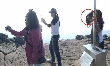 ขนหัวลุก! ข้าราชการสาวถ่ายภาพติดวิญญาณที่ผาชูธง ภูหินร่องกล้า