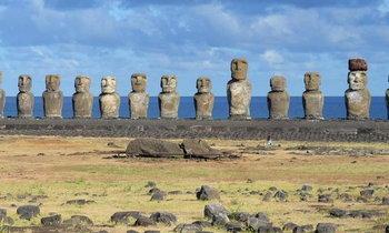 รูปสลักหินเกาะอีสเตอร์ เสี่ยงจมน้ำเป็นแค่ตำนานอีกไม่ถึงร้อยปี