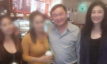ทักษิณ ยิ่งลักษณ์ อยู่ดูไบ เจอคนไทยไปเดินห้างขอถ่ายรูป