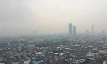 กรุงเทพฯ 6 จุด ฝุ่นละอองเกินมาตรฐานทุกสถานี