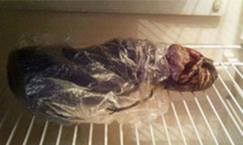 ฮือฮา! หญิงรัสเซียจับร่างเอเลี่ยนแช่ในตู้เย็น