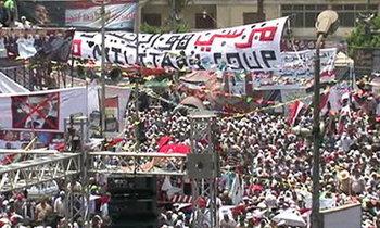 US เรียกร้องอียิปต์ ปล่อย มอร์ซี-ผู้ประท้วงปฏิเสธ