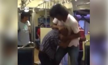 ชาวเน็ตจวกยับ หนุ่มทำร้ายลุงแก่ไม่มีทางสู้ บนรถไฟหัวหิน