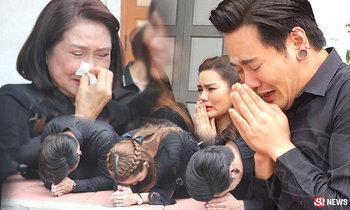 น้ำตาท่วม! นักแสดงรวมตัว จำลองฉากสำคัญวันเคลื่อนพระบรมศพ