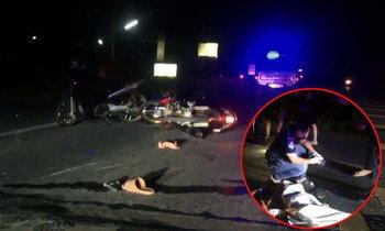 เด็กแว้นชัยภูมิ ปิดถนนแข่งซิ่งกลางดึก ชนกันเองตาย 1เจ็บ 3