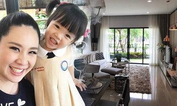 อลังการ นุ้ย สุจิรา ย้ายเข้าบ้านใหม่ในพื้นที่โรงเรียนเพื่อ น้องรดา