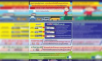กรมการขนส่งฯ เตรียมออกใบขับขี่สมาร์ทการ์ด 4 ก.ย.60