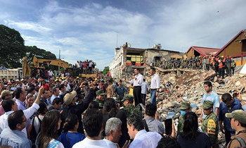 คืบหน้า แผ่นดินไหวขนาด 8.1 ที่เม็กซิโก ยอดเสียชีวิตพุ่ง 61 ราย