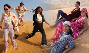 ช็อตเด็ด 3 นางเอกตัวท็อป ประชันความสวยจรดทราย