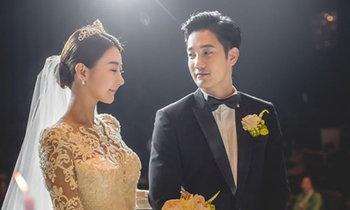 ประมวลภาพงานแต่ง อ้วน รังสิต ที่เกาหลี งดงามเหมือนในละคร