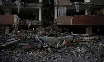 ประมวลภาพแผ่นดินไหว พรมแดนอิหร่าน-อิรัก ยอดดับพุ่ง 164