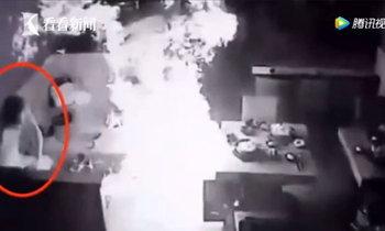 ระทึก! แก๊สระเบิดในร้านหม้อไฟที่ไต้หวัน ลูกค้าหนีวุ่น เจ็บ 7 คน