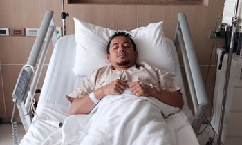เมธี ลาบานูน วูบบนเวที ถูกหามส่งโรงพยาบาล