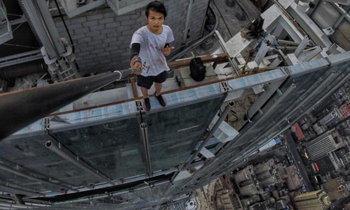 หนุ่มจีนนักไต่ความสูงด้วยมือเปล่า พลาดท่าตกตึกเสียชีวิต